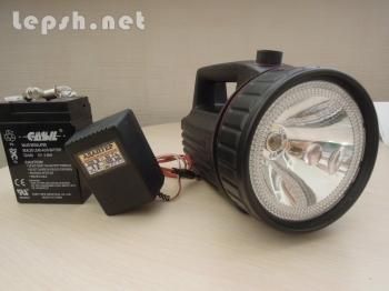 Продаю - Ручной переносной светодиодный фонарь ФАР-2С LED  незаменим на отдыхе